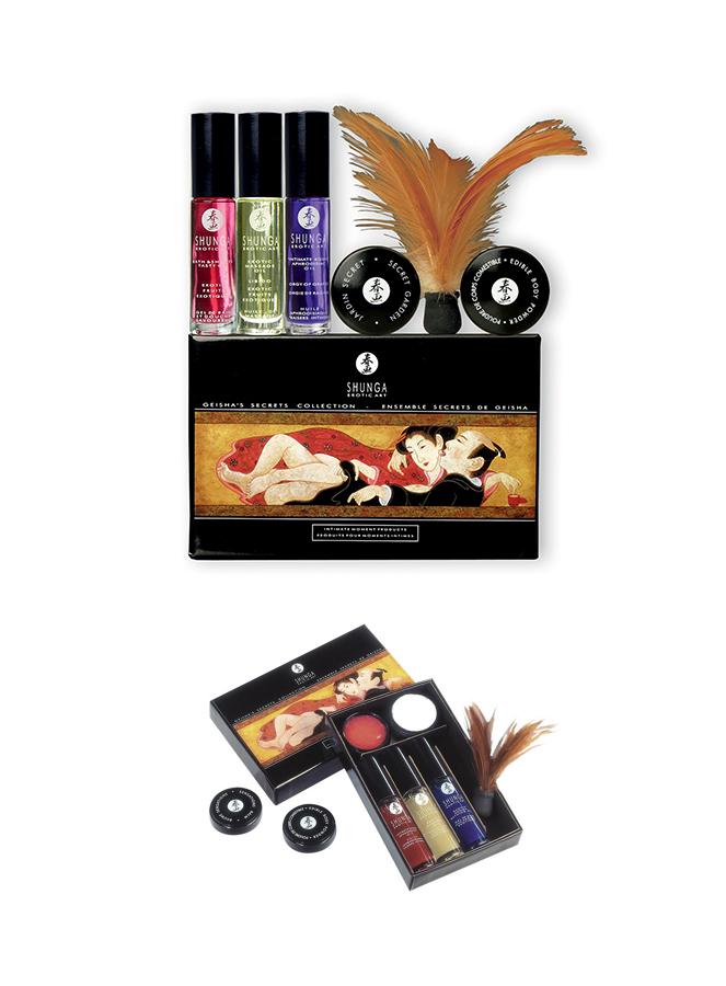 Coffret intime Secret de Geisha Shunga