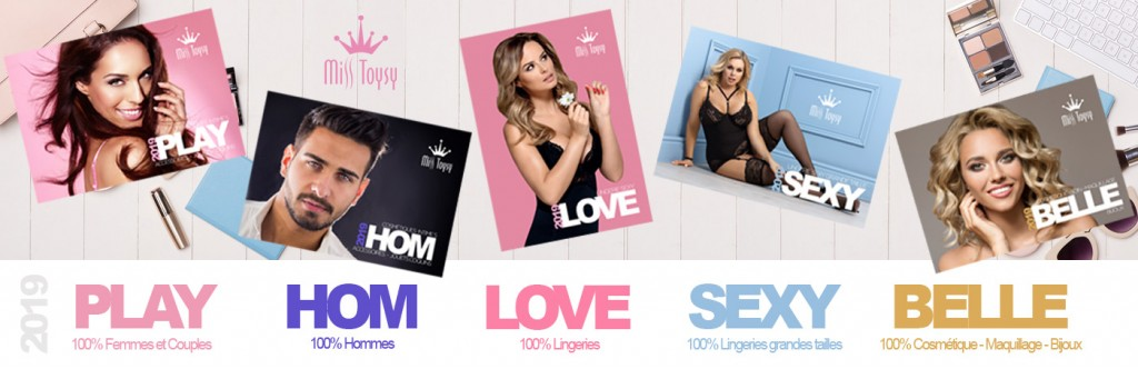 Catalogue sextoys Miss Toysy 2019