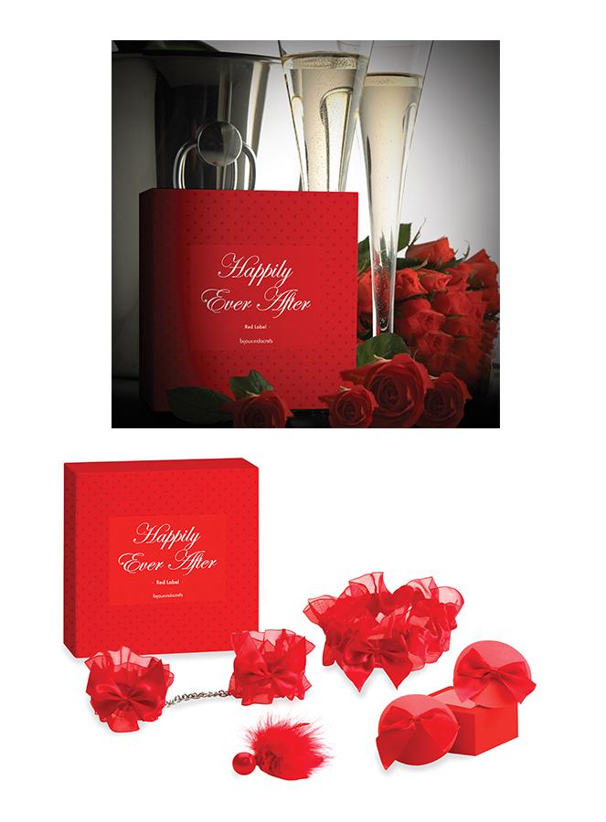 Coffret sexy La mariée Rouge