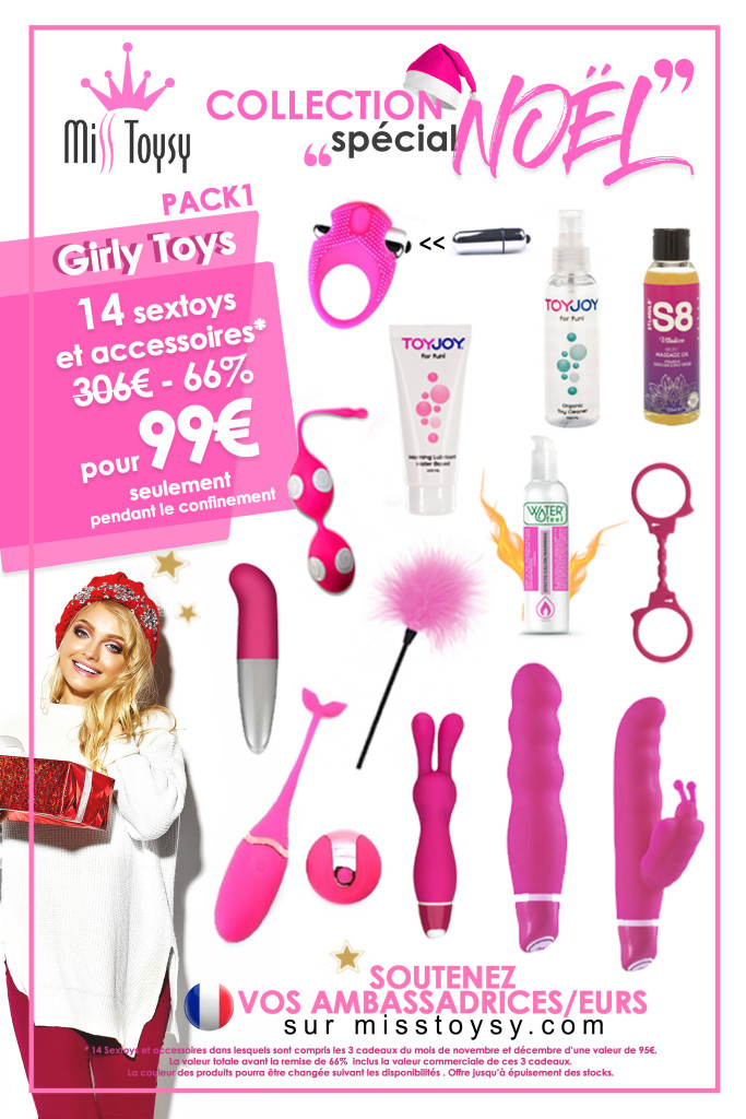 FACEBOOK PACK GIRLY TOYS