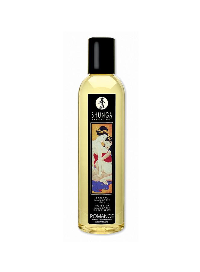 Huile de massage fruitée Shunga
